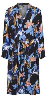 Dorothy Perkins Womens **Vero Moda Black Floral Print Shirt Dress