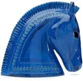 Bitossi Rimini Blu Ceramic Horse Head