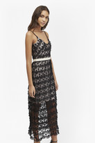 French Connection Tassel Beach Textured Maxi Dress