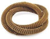 Sur La Table Gold Mesh Napkin Ring
