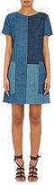 J Brand Women's Rosemary Patchwork Denim Shift Dress