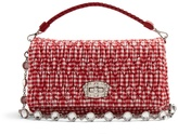 Miu Miu Quilted gingham shoulder bag