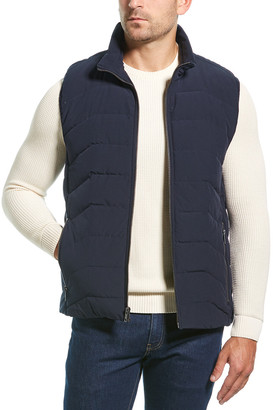 Andrew Marc Clifton Quilted Down Vest
