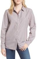 Stateside Women's Stripe Oxford Shirt