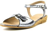 Eric Michael Nobo Women US 9 Gray Wedge Sandal EU 39