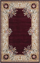 Momeni Open Field Hand-Carved Wool Rectangular Rug