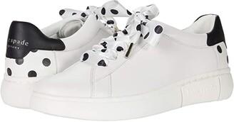 Kate Spade Lift (Optic White/Black Dots) Women's Shoes
