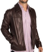 Cole Haan Smooth Lambskin Jacket (For Men)
