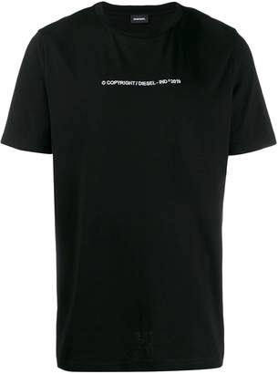 Diesel relaxed fit T-shirt