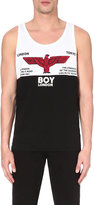 Boy London Cotton-jersey Logo Vest