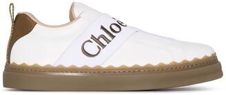 Chloé Lauren strap sneakers