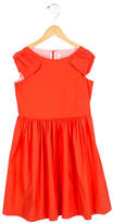 Il Gufo Girls' Bow-Accented A-Line Dress