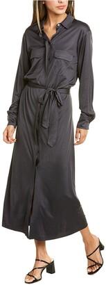 ROYL Lightweight Double Layer Silk Shirtdress
