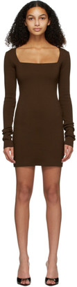 Nanushka Brown Leah Dress