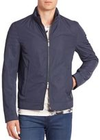 HUGO BOSS Solid Two-Way Zip Jacket
