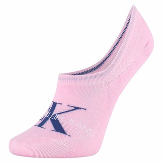 Calvin Klein Women's Liner 1p Jeans Logo Brooklyn Socks