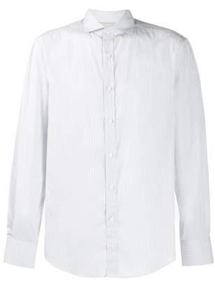 Brunello Cucinelli pinstripe shirt