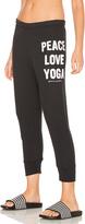 Spiritual Gangster Peace Love & Yoga Sweatpant
