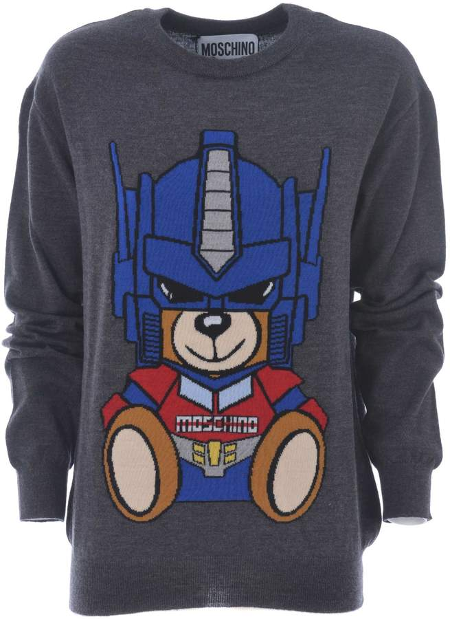 Moschino Transformer Bear Jumper