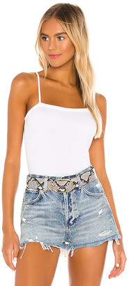 Chaser Square Neck V Back Cami