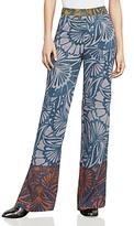 BCBGMAXAZRIA Chris Printed Wide-Leg Pants
