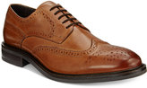 Alfani Men's Geoff Leather Wingtip Derbys, Only at Macy's
