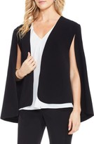 Vince Camuto Women's Milano Twill Cape Jacket
