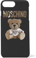 Moschino Printed Acrylic Iphone 7 Plus Case - Black