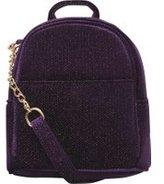 Dorothy Perkins Womens Purple Mini Cross Body Backpack- Purple