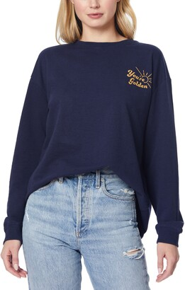 Poppy Graphic Pullover