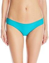 Quintsoul Women's Low-Rise Cutie Cinched Bikini Bottom