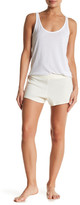 C&C California Rib Knit Flared Shorts