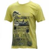Buffalo David Bitton Men's Niwatz Short Sleeve Graphic T-Shirt