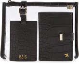 Beis The Travel Set Passport Wallet, Pouch & Luggage Tag