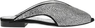 Givenchy Open-Toe Crystal Mules