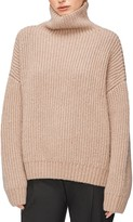 Anine Bing Sydney Funnel Neck Wool & Alpaca Blend Sweater
