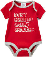 Baby Essentials Red 'Don't Make Me Call Grandma' Bodysuit - Infant