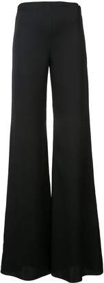 Vionnet High-Rise Flared Trousers