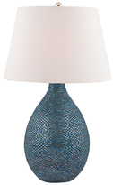 Gilt,  blue mosaic, In Stock