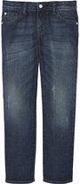 Armani Junior Distressed Denim Jeans 4-16 Years