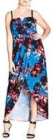 City Chic Jewel Floral Maxi Dress