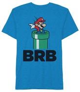 Boys' Nintendo Super Mario BRB T-Shirt - Blue