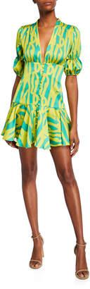 Alexis Idun Short Neon Dress