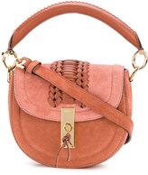 Altuzarra fold over shoulder bag - women - Suede - One Size