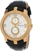 Titan Men's 1535YL01 Regalia Day and Date Function Watch