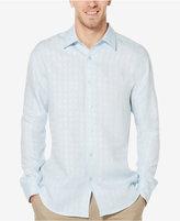 Cubavera Men's Grid-Pattern Shirt