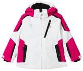 Armani Junior White Klingler Colour Block Ski Jacket