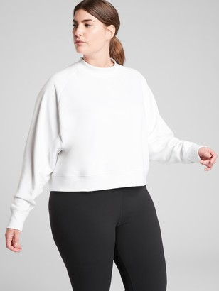 Athleta Bounce Back Crop Sweatshirt