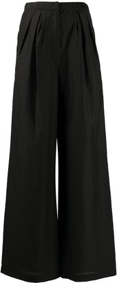 Christian Wijnants High-Waisted Wide-Leg Trousers
