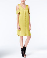 Rachel Roy Cold-Shoulder Shift Dress, Only at Macy's